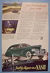 1940 Nash Automobile With Green Nash