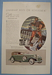 Vintage Ad: 1933 Cadillac V-12 Phaeton