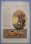 Vintage Ad: 1933 Cadillac V-12 Convertible Coupe