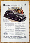 Vintage Ad: 1935 Turret Top By Body By Fisher