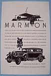 Vintage Ad: 1930 Marmon