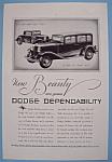 Vintage Ad: 1931 Dodge
