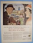 Vintage Ad: 1955 Hertz Rent A Car