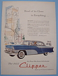 Vintage Ad: 1955 Packard Clipper