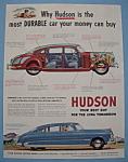 Vintage Ad: 1951 Hudson