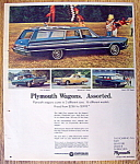 Vintage Ad: 1965 Plymouth Wagon