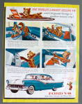 1956 Ford V-8 With The Bear
