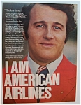 1976 American Airlines With A Passenger Service Manager