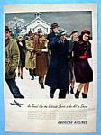 Vintage Ad: 1946 American Airlines