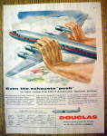 1954 Douglas Dc-7 With Fastest Airliner