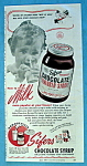 Vintage Ad: 1946 Sifer's Chocolate Flavored Syrup