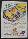 1945 Allsweet Margarine