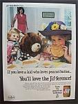 Vintage Ad: 1985 Jif Peanut Butter