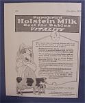 1923 Holstein Milk