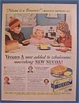 Vintage Ad: 1938 Nucoa Oleomargarine