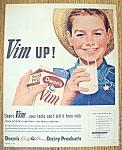 Vintage Ad: 1962 Dean's Vim