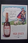 1938 Old Angus Whiskey