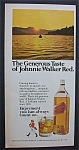 1975 Johnnie Walker Red Label Whiskey