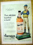 1959 Four Roses Antique Whiskey With The Money Rider