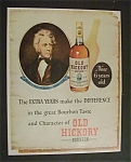1952 Old Hickory Bourbon