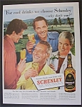 1951 Schenley Whiskey W/ Wilde, Pinza, Hayward & Rains