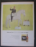 1957 White Horse Scotch Whiskey