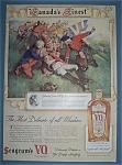 Vintage Ad: 1939 Seagram's V.o. Canadian Whiskey