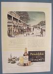 Vintage Ad: 1946 Philadelphia Blended Whiskey