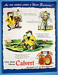 Vintage Ad: 1942 Calvert Whiskey