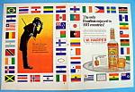 Vintage Ad: 1966 I. W. Harper Bourbon Whiskey