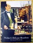 1967 Walker's Deluxe Bourbon With Waiter