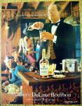 1967 Walker's Deluxe Bourbon W/waiter Mixing Drinks