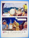 1954 Old Forester With Great Day & Evening