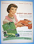 Vintage Ad: 1952 Van Camp's & Stokely's