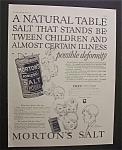 1926 Morton's Salt
