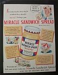 1941 Miracle Sandwich Spread