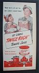 1952 Libby's Tomato Juice