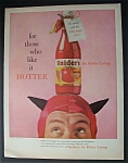 1958 Snider's Hotter Catsup