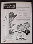 1953 Jane Parker White Bread