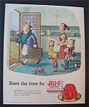 1953 Jell - O Gelatin Dessert