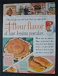 1954 Aunt Jemima Pancake Mix