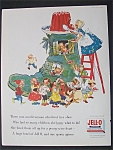 1955 Jell - O Gelatin Dessert