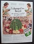 1935 Royal Gelatin Dessert