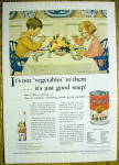 1931 Campbell Vegetable Soup By Jessie Wilcox Smith