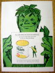 1960 Green Giant Niblets With The Green Giant