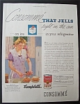 1935 Campbell's Consomme Soup