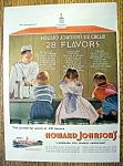 1955 Howard Johnson Ice Cream