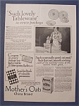 1927 Mother's Oats With China