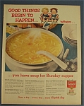 1960 Campbell's Chicken Noodle Soup
