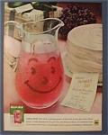 1961 Kool Aid W/ A Pitcher Of Kool Aid & A Cake & Note
